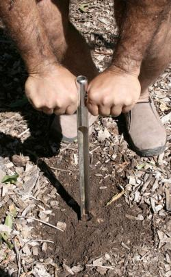 Soil sampling tube<br>(click to enlarge)